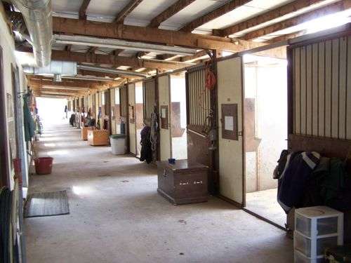 Riding Facilities at Two Hawks Ranch in Larkspur, Colorado