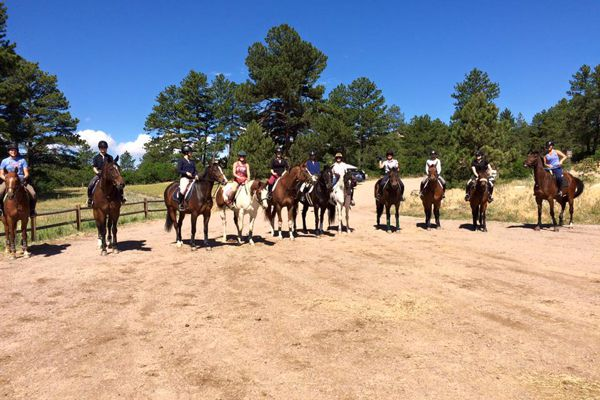 Horse Riding and Lessons in Larkspur, Colorado
